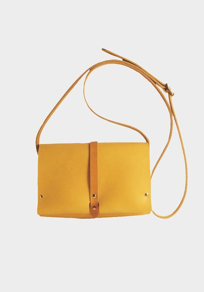 M. Hulot Gia Bag in Yellow - Snowden Flood Shop