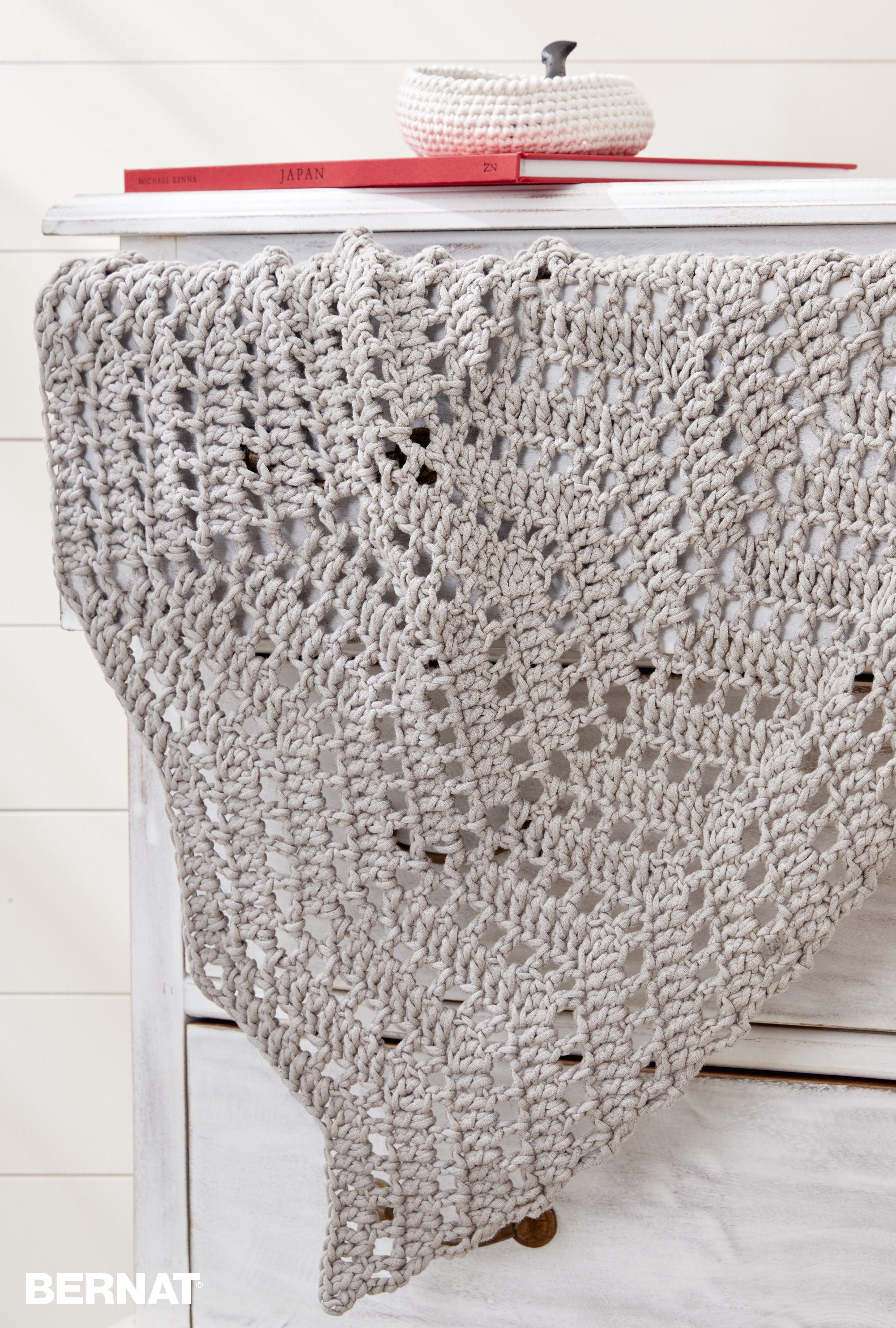 Ripples In The Sand Crochet Afghan - Free Crochet Pattern ...