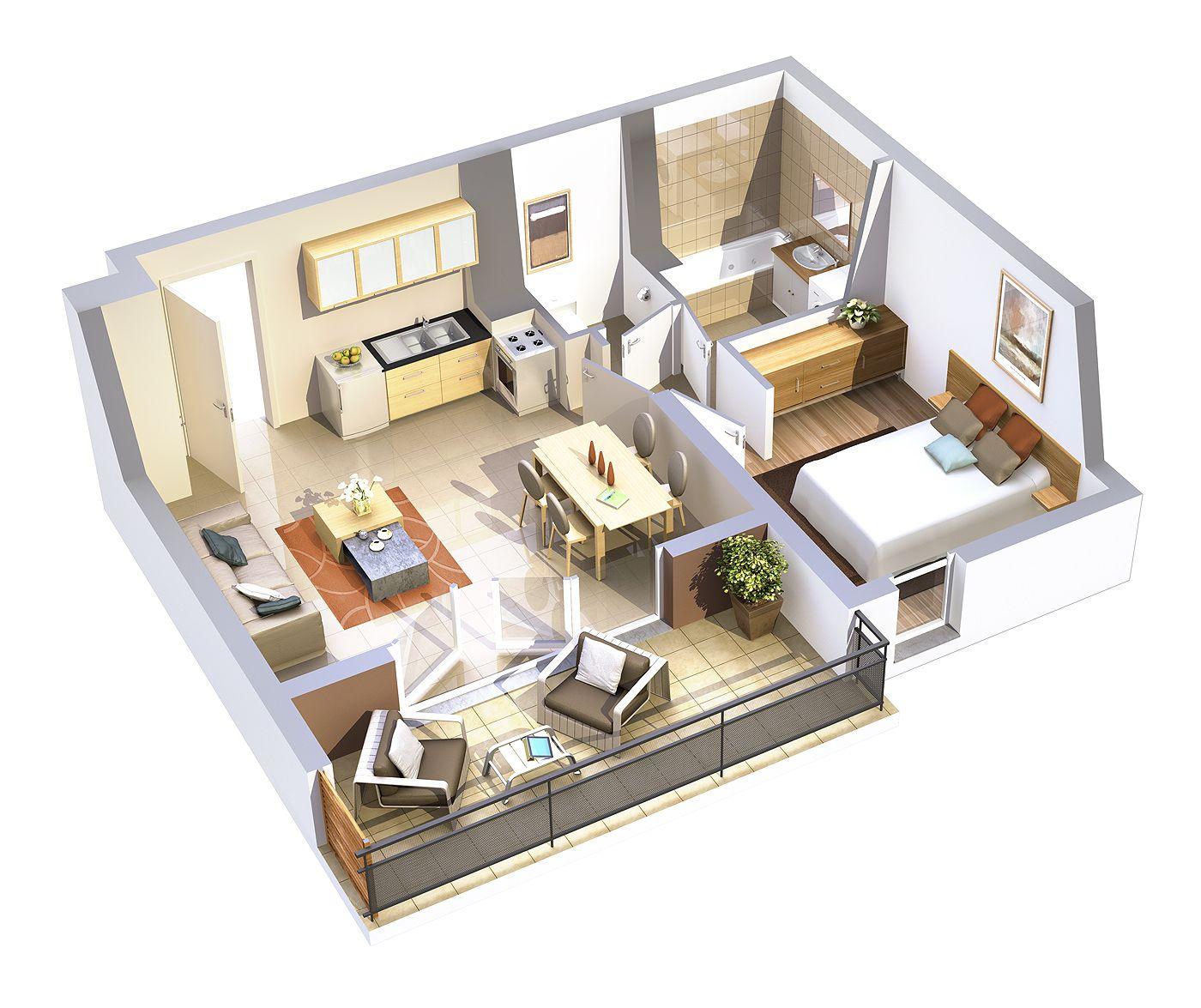 Home Design 3d 2 Etage: Plan 3D - Attik Images
