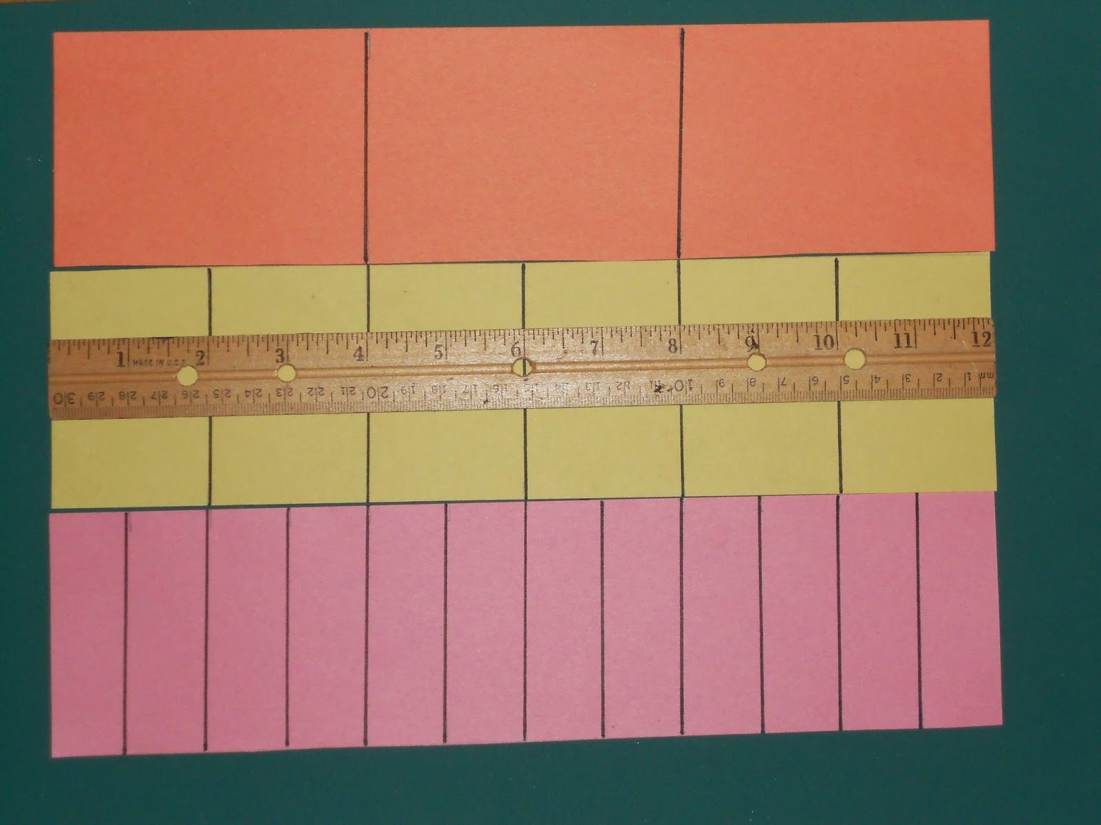 Student Created Fraction Strips Part 2 Sixths Eighths