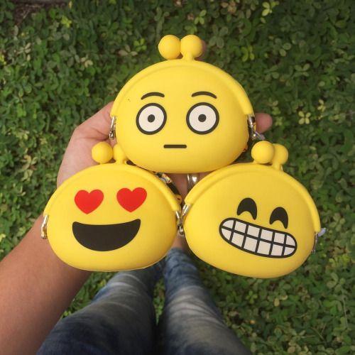 Resultado de imagen para billeteras con emojis