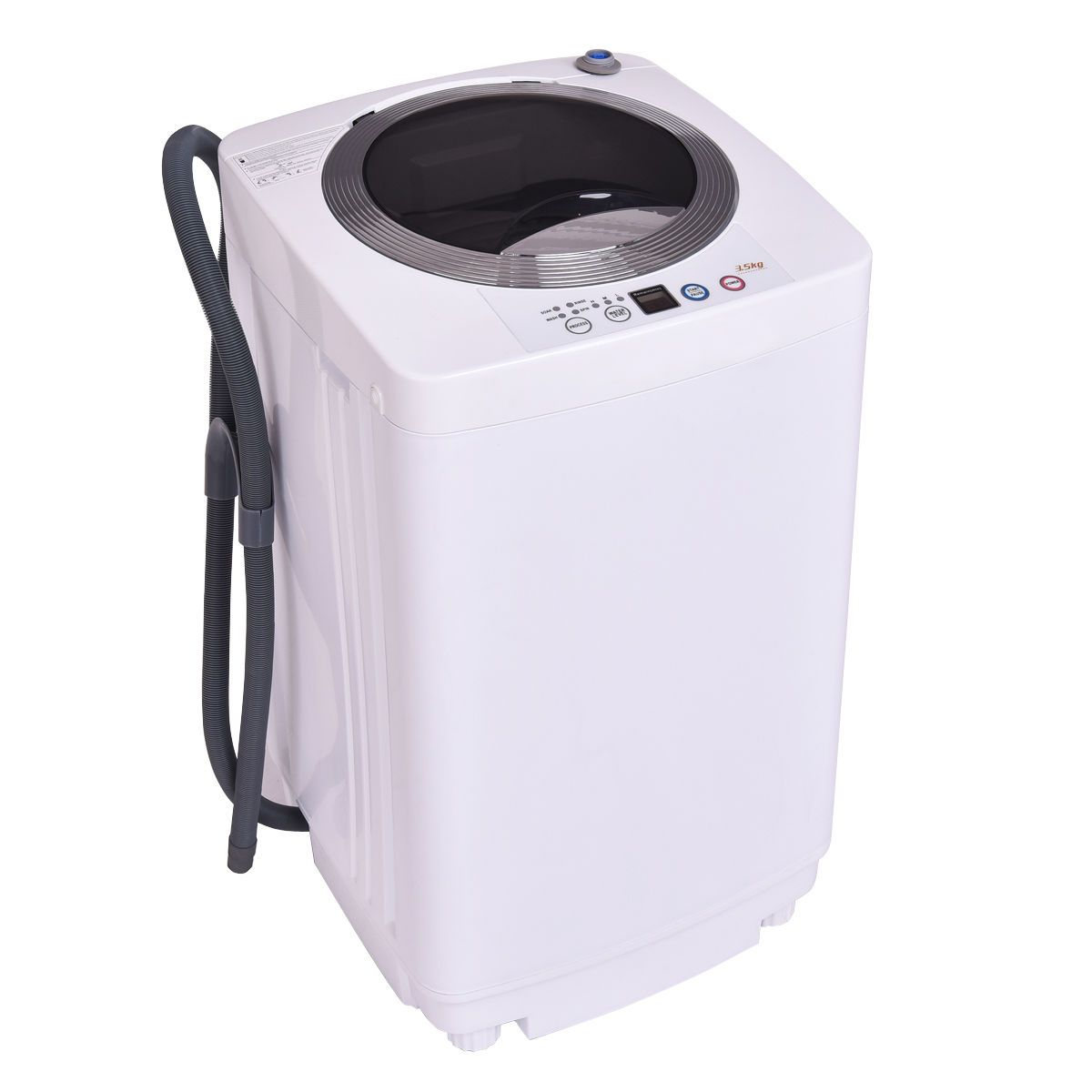 Fullautomatic laundry wash machine 77lb washerspinner w