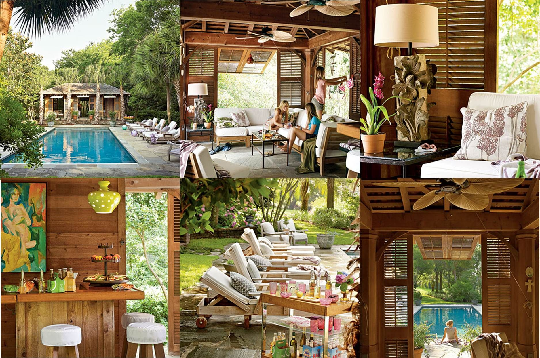 Dream Pool House Featured in Southern Living | Southern ... on Southern Pools And Outdoor Living id=67286