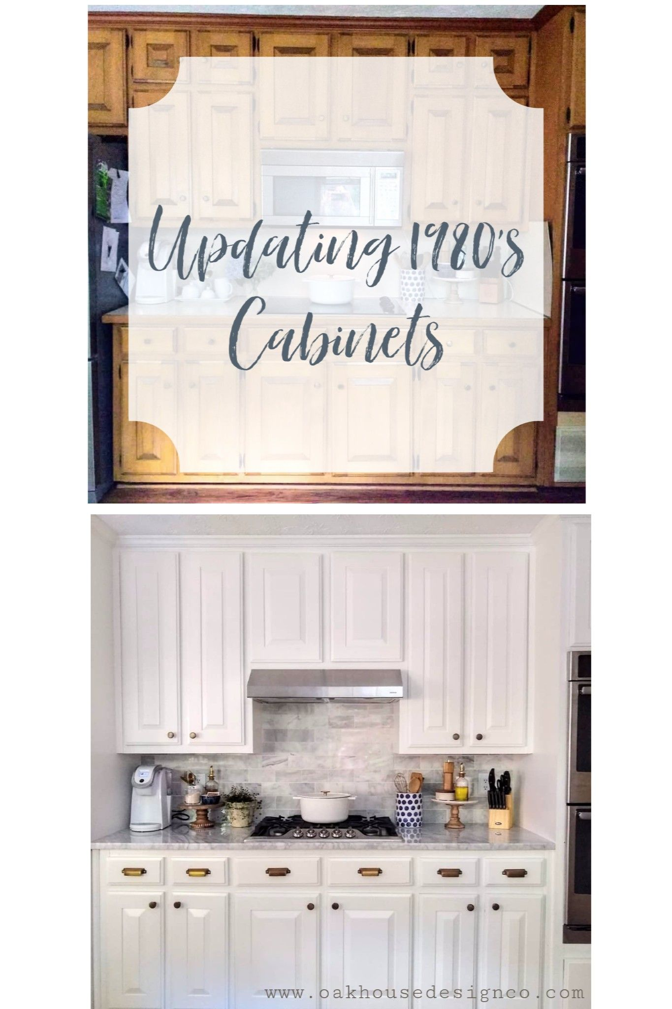 Updating A 1980 S Kitchen Kitchen Old Kitchen Kitchen Cabinets