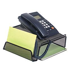 Office Depot Brand Metro Mesh Phone Stand Black By Officemax