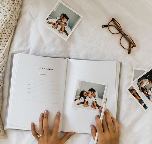 Why a minimalist baby book? // When searching for a baby ...