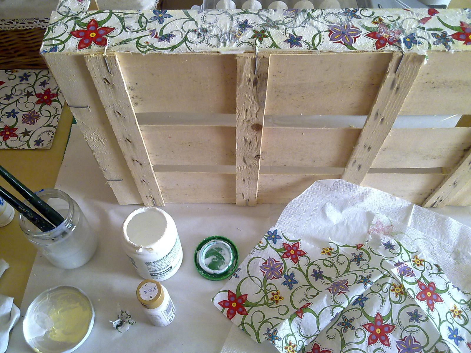 Forrada con servilletas con cajas pinterest - Decorar cajas de madera con servilletas ...