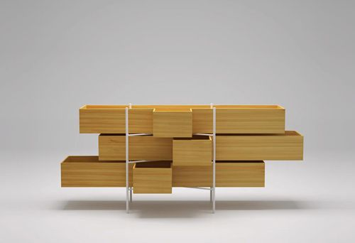 Japanese Minimalist Furniture Beauteous Minimalist Bathroom Furniture In Larch Woodbisazza Bagno . Inspiration Design