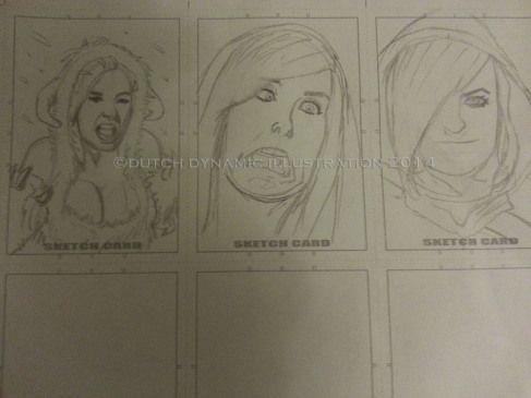 Jessica Nigri sketchcard