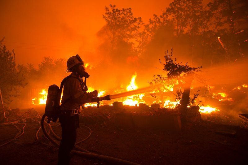 Evacuations Ordered As Crews Battle Massive California Fire In 2020 California Wildfires Paris Terror Attack San Gabriel Mountains