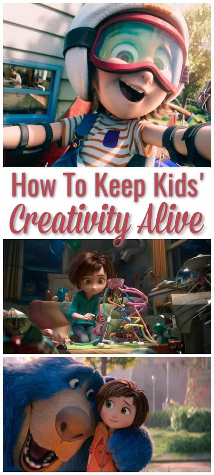 Tips and ideas to help keep kids creativity alive. #ad #wonderpark #kidsactivities #creativity