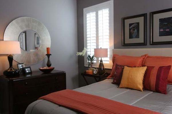 Merveilleux Decorating With Orange Accents: Inspiring Interiors