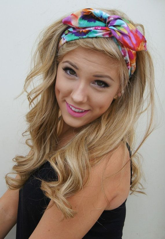 dolly bow headband rockabilly pin