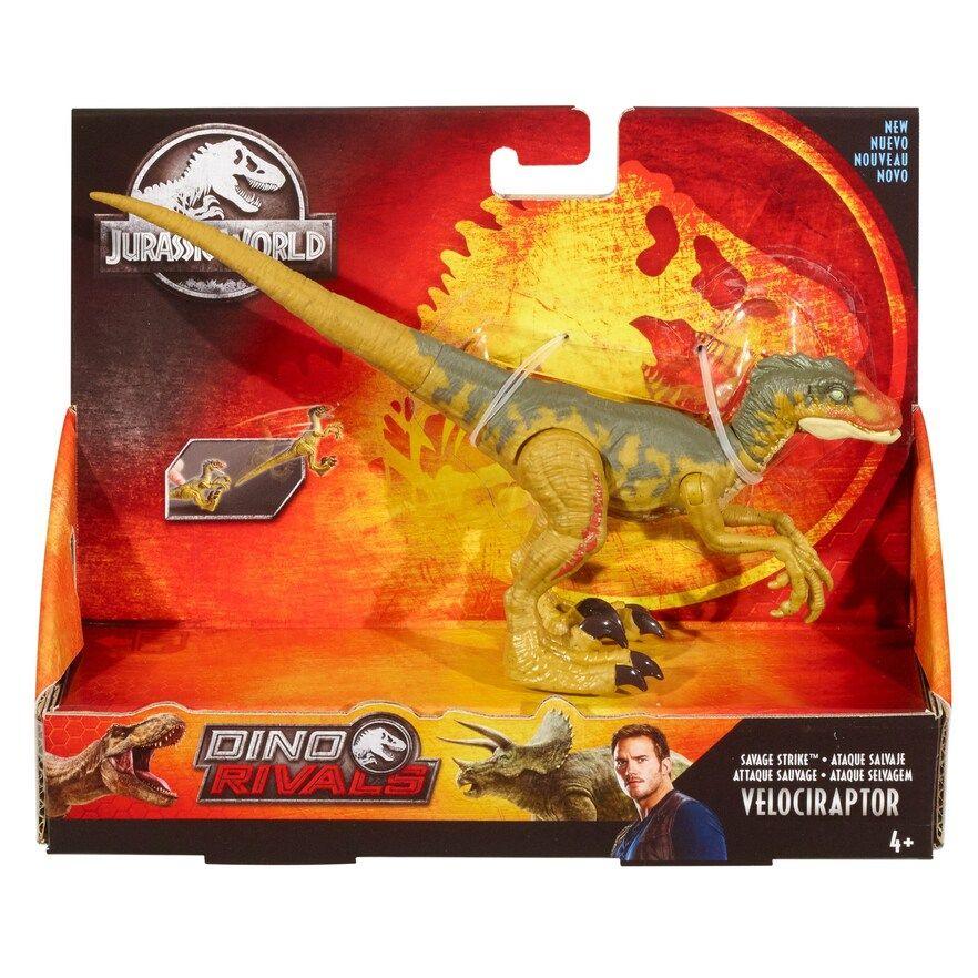 Mattel Jurassic World Velociraptor Dinosaur Action Figure