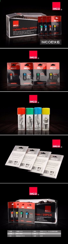 10 Pz / pacco Pietre Flints Original IMCO Per Benzina