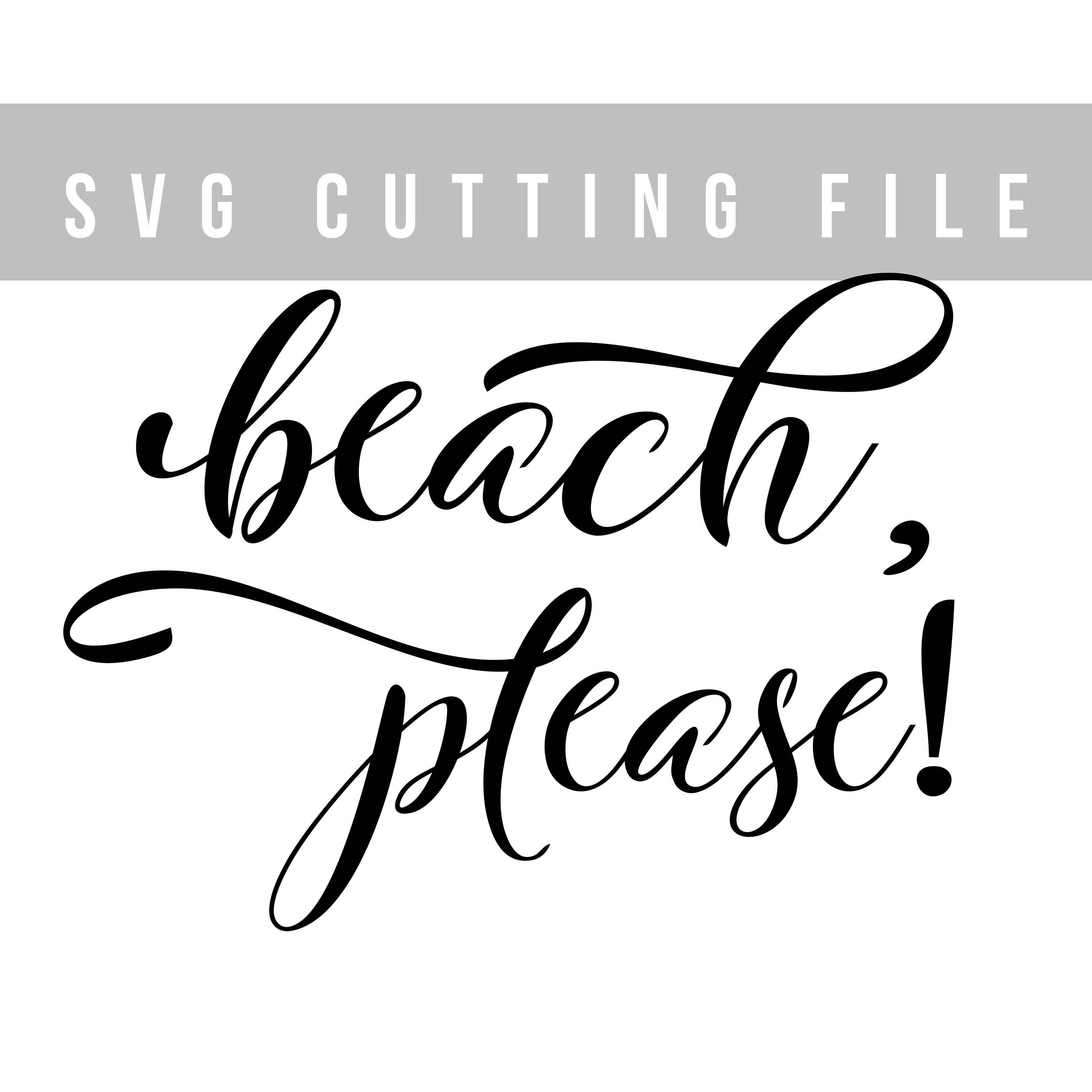 Beach svg cricut file Cutting svg design Summer svg Iron