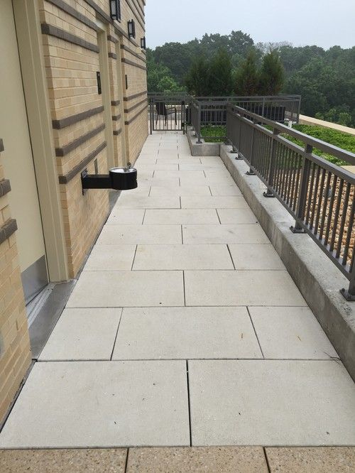 Pedestal Pavers In Washington Dc Green Roof Top Deck At Park Van Ness Nw By Lifetime Stones Patio Builders Green Roof Paver Patio