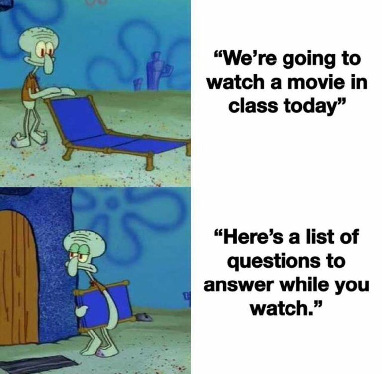 23 Random Funny Memes Clean For Today Funny Spongebob Memes Funny School Memes School Memes
