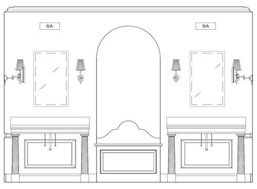 Q with Phoebe: How to Hang Bathroom Sconces Question: We ... on Height Of Bathroom Sconce Lights id=98209