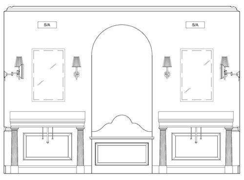 How High Do You Hang A Bathroom Sconce Home Decor Bathroom Sconces Sconces Trendy Bathroom