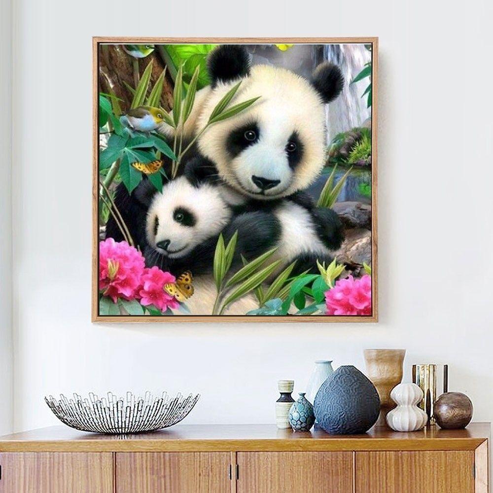 5d diy panda diamond embroidery painting diamond