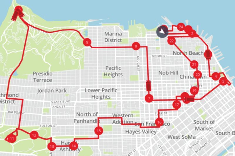 Alcatraz Prison Island Tour San Francisco Hop On Hop Off Bus