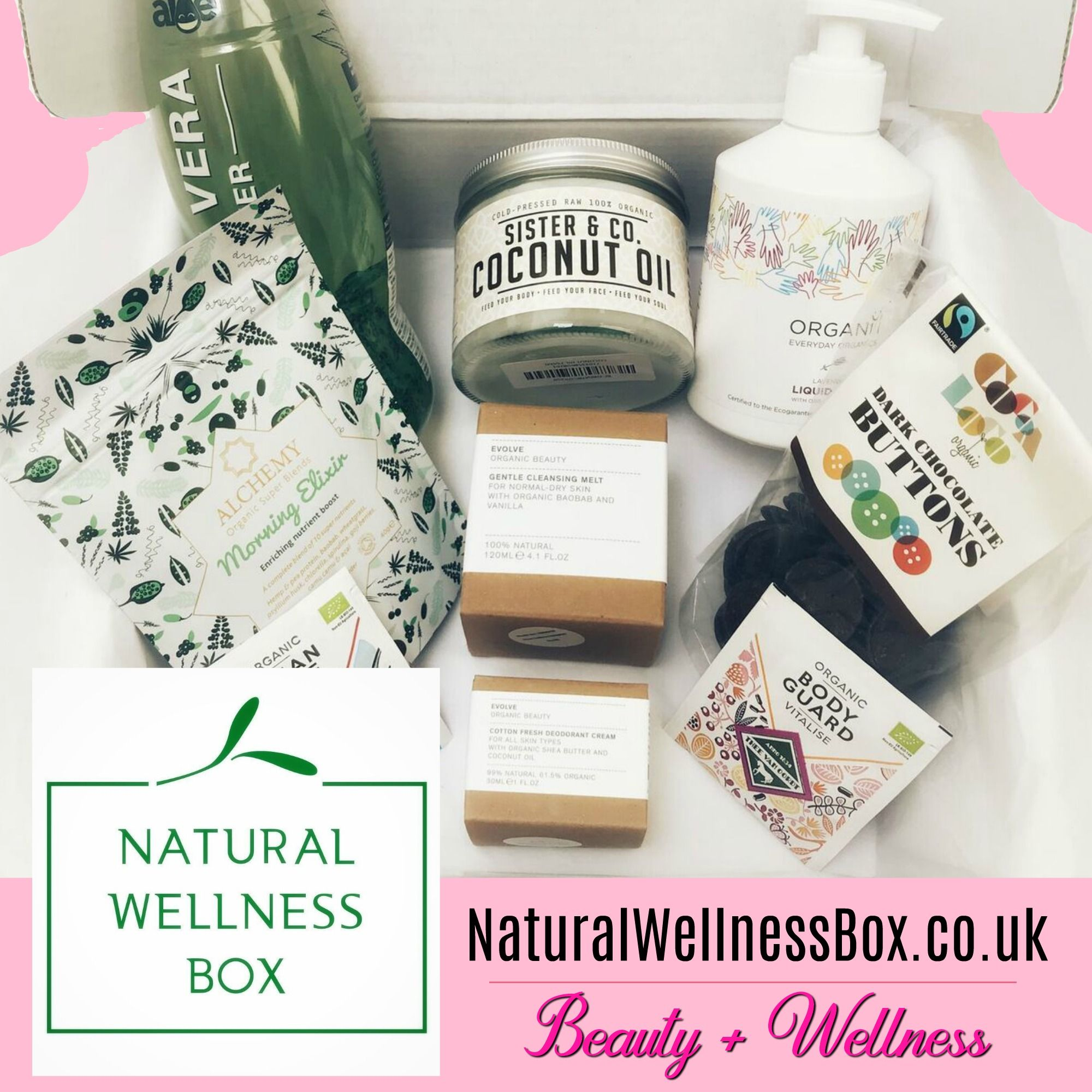 Natural Wellness Box Wellness Products Delivered To Your Home