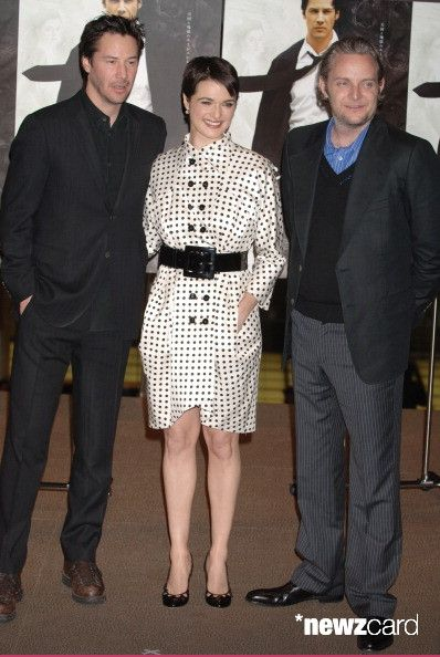 Keanu Reeves, Rachel Weisz and Francis Lawrence during 'Constantine' Tokyo Premiere - Arrivals at Tokyo International Forum in Tokyo, Japan. (Photo by Jun Sato/WireImage)