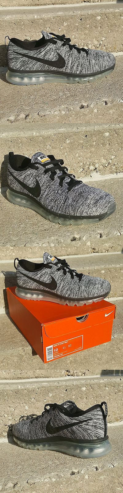 the best attitude d7a81 259b0 Men Shoes  Nike Flyknit Air Max Size 10 Mens Running Shoes White Black -