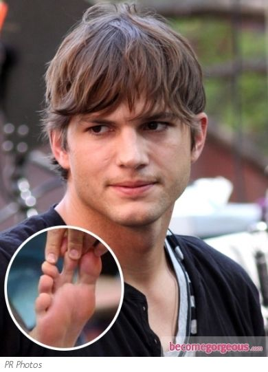 8 Celebrities You Didn't Know Have Webbed Feet And Toes | Ashton kutcher,  Boys haircuts, Mens messy hairstyles