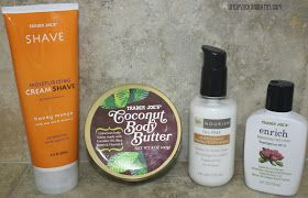 Life, Lipstick and Lattes: Favorite Trader Joe's Beauty Products