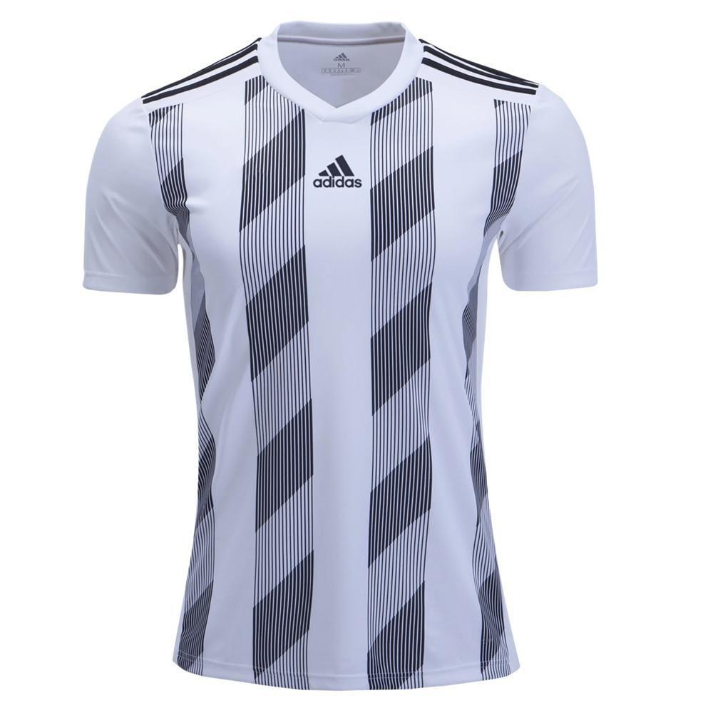 adidas Kids Striped 19 Jersey White/Black - S in 2021   Sports ...