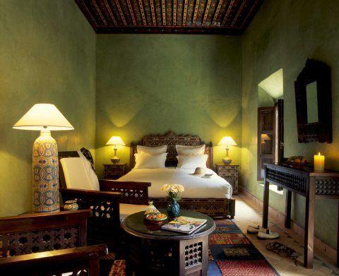 wohnung in marokko | 1001 nacht in marokko: riad-hotels bieten, Innenarchitektur ideen