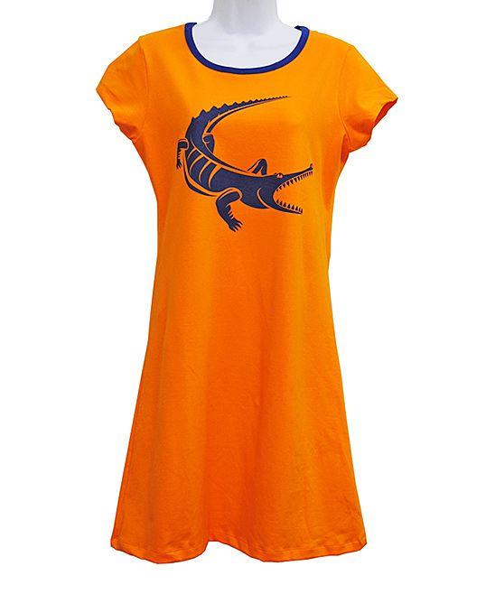 Gator Game Day Tee Dress