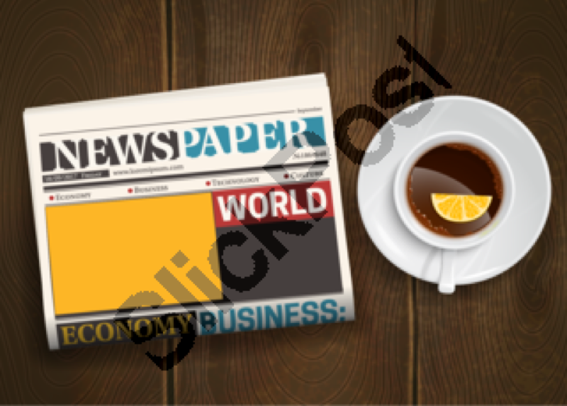 newspaper,daily,folded,table,top,advertisement,article