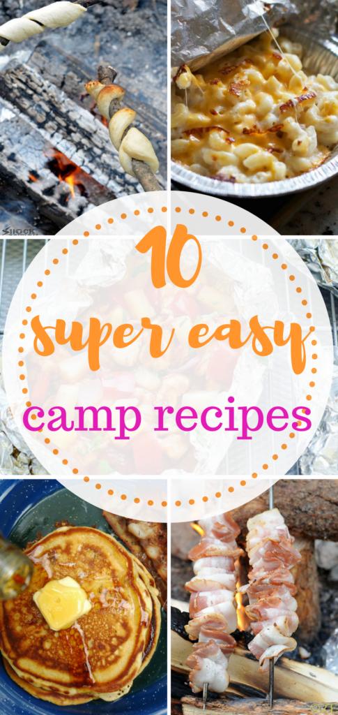 Super Easy Camping Recipes Camping Camping Recipes
