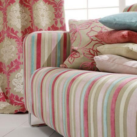 Clarke And Clarke Regency Velvets Fabric Collection