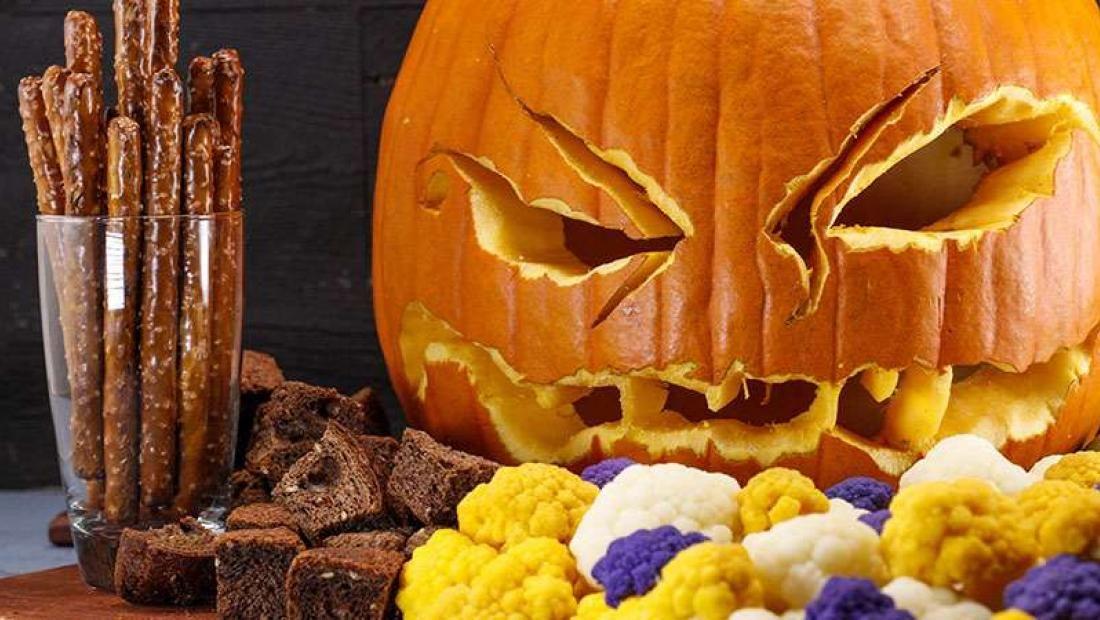 Spicy Pumpkin Fondue Halloween appetizers, Fondue