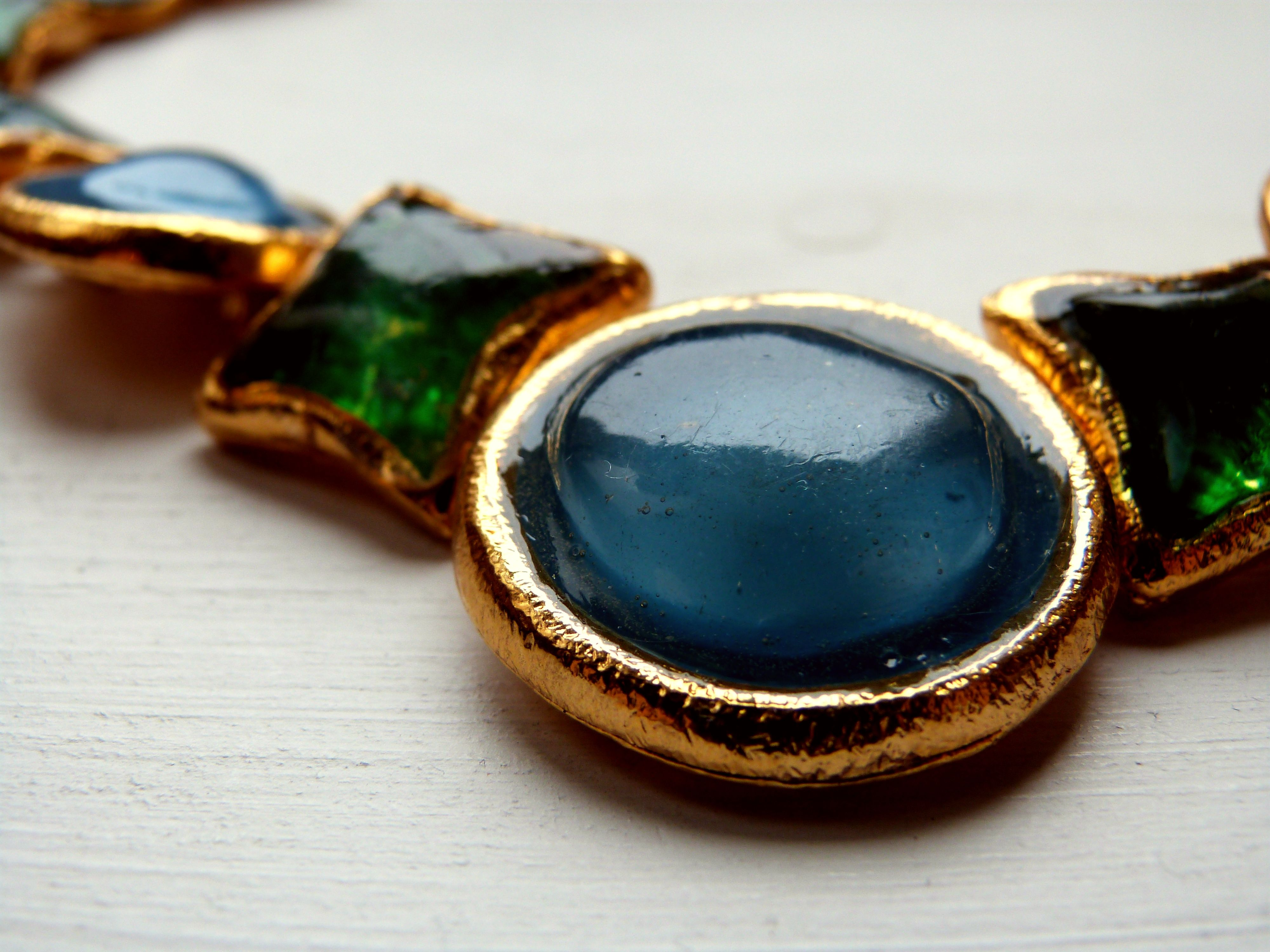 Vintage L'Or de Soir, Paris necklace