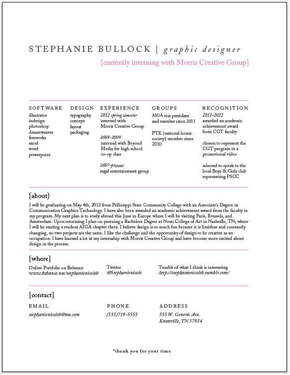 Resume  Job    Process Infographic Design Process And