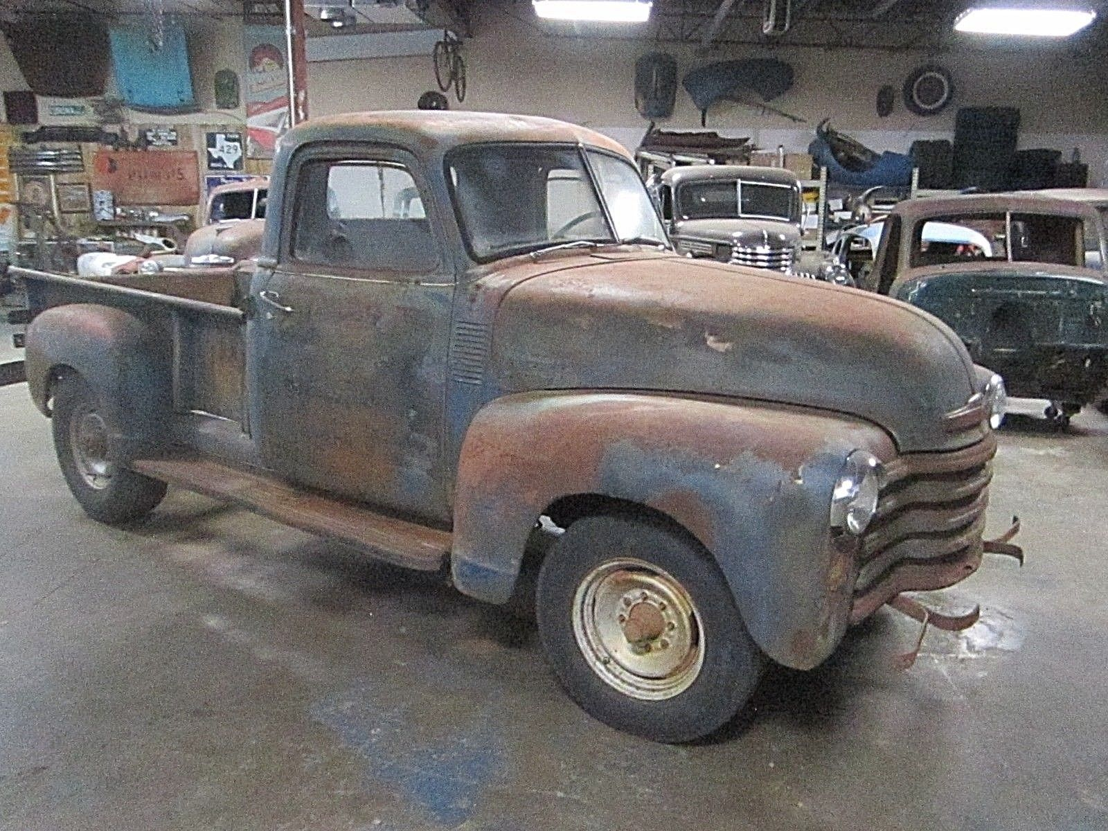 Nice Awesome Chevrolet Other Pickups 1949 Chevy Truck No Reserve Rat Rod Original Barn Find Patina