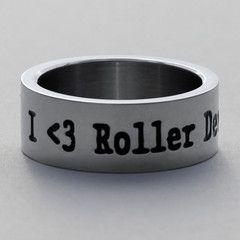 I <3 Roller Derby Ring