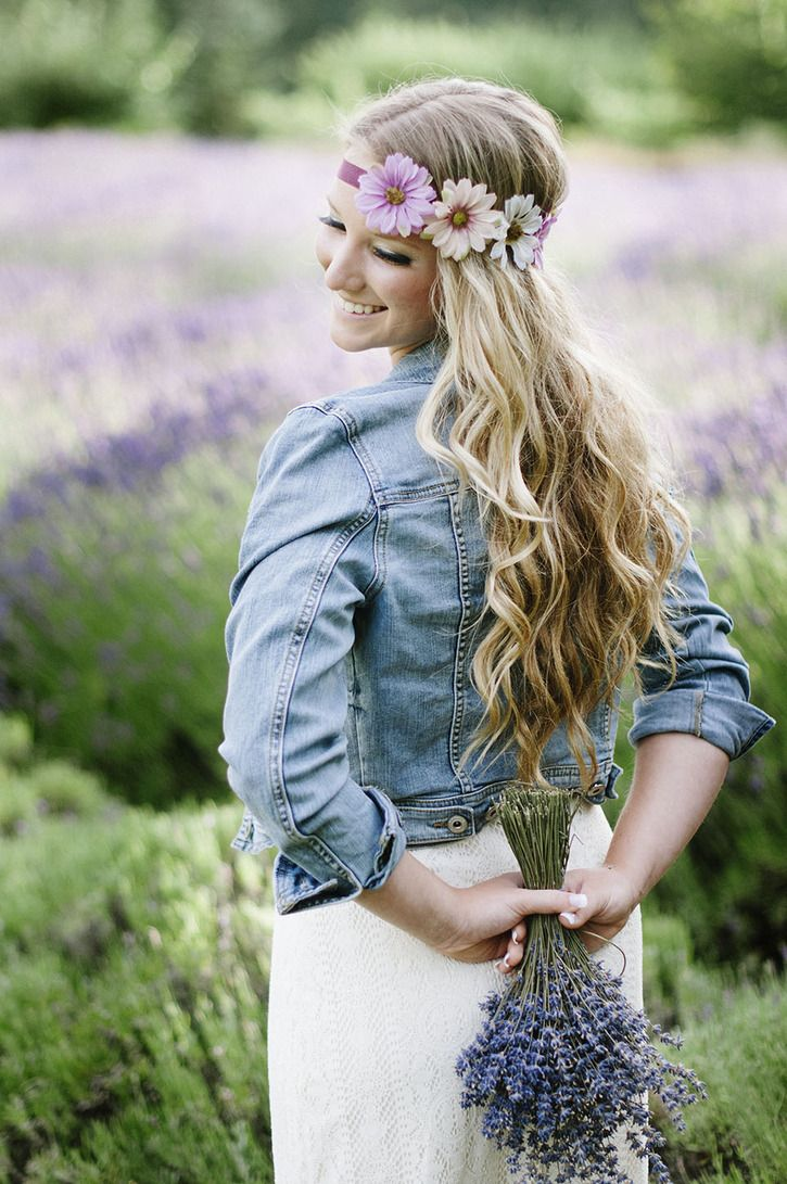 Senior Pictures, Lavender, Fields, Sequim, Girl, Tammy D