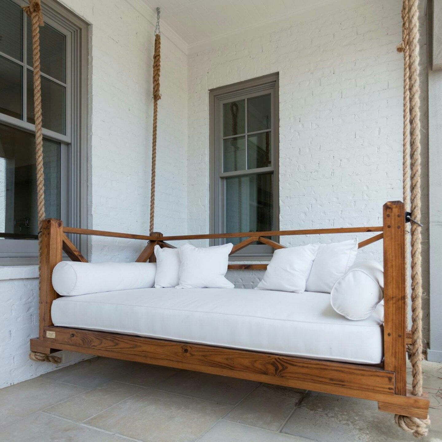 The Seaside Bed Swing Www Fouroakdesigns Com Porch Swing Bed