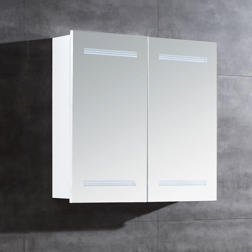 Ove Decors 26 In W X 25 In H X 6 In D Frameless Surface Mount