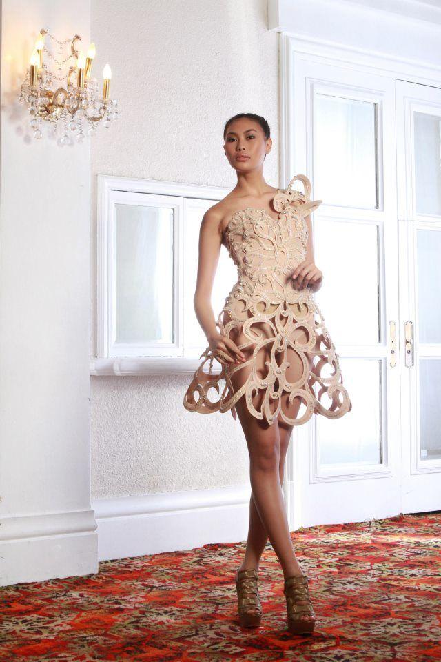 Francis Libiran Dress  50030798db8