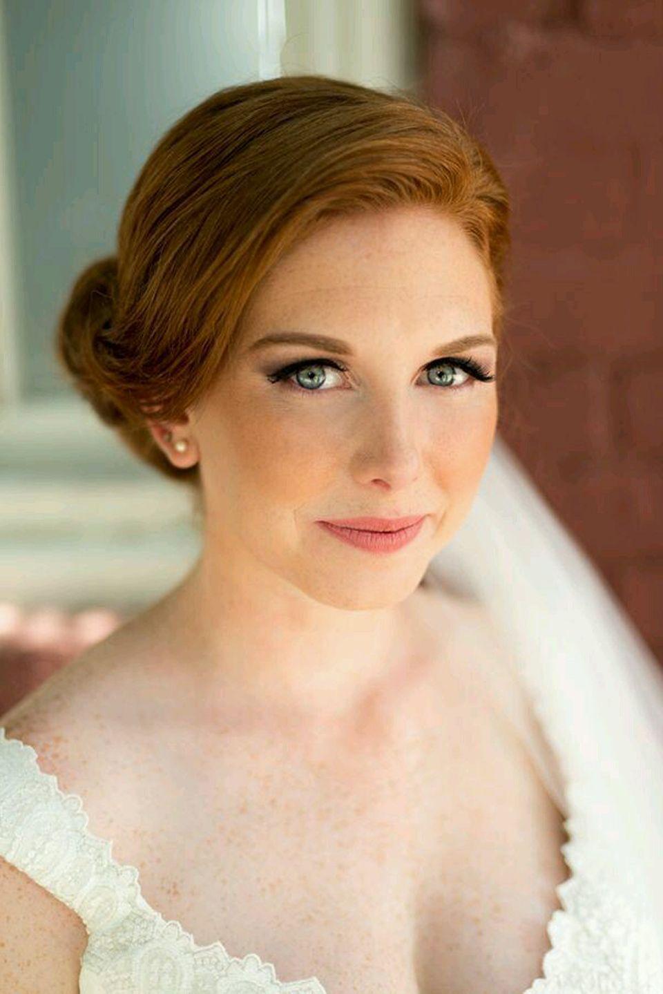 Pin by bjsin on Red Hair Wedding makeup redhead, Wedding