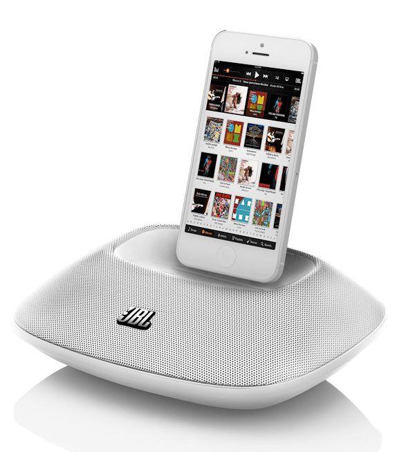 JBL OnBeat Micro iPhone 5 Speaker Dock-Beyaz : 288,00 TL | evmanya