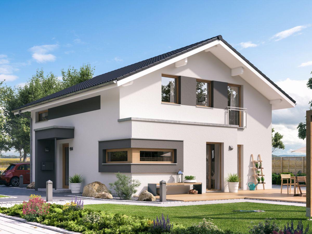 Moderne Häuser Preise sunshine 154 v5 - living haus ➤ fertighaus mit satteldach