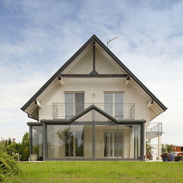 Une Maison Avec Un Projet DExtension Alliant Modernit Et
